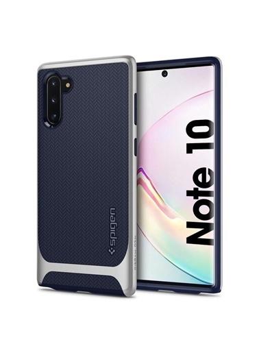 Spigen Galaxy Note 10 Kılıf, Neo Hybrid Gümüş